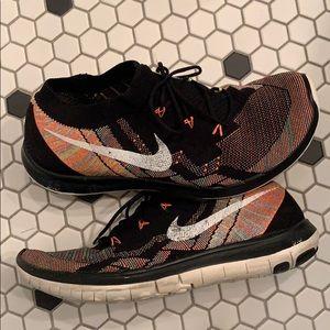 Nike Running Flyknit Sneakers Barefoot Ride 10